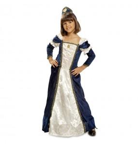 Déguisement Dame Médiévale Bleue