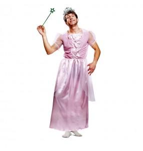 Déguisement Princesse Homme Rose