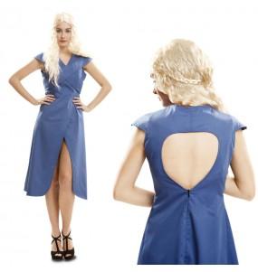 Déguisement Daenerys Targaryen Bleu