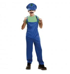 Déguisement Plombier Super Luigi