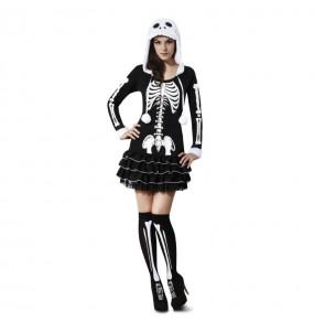 Déguisement Squelette Femme Sensuelle