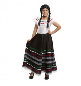 Déguisement Mariachi Mexicaine Enfant
