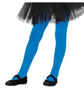 Collants bleus pour filles