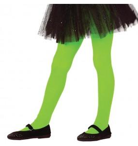 Collants verts pour filles