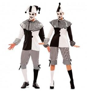 Déguisements Arlequins Cirque