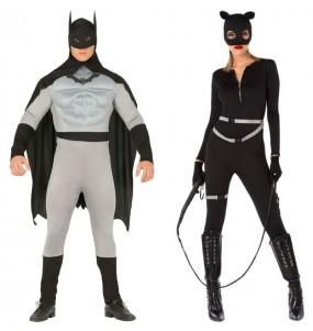 Déguisements Batman et Catwoman