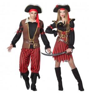 Déguisements Capitaines Pirates
