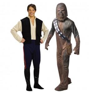 Déguisements Chewbacca et Han Solo
