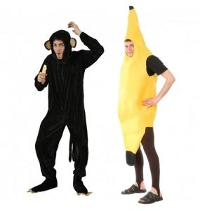 Déguisements Chimpanzé et Banane