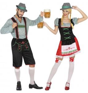 Déguisements Allemands fête de la bière