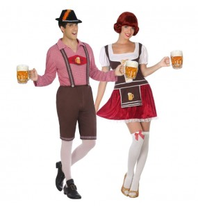 Déguisements Bavarois Allemands Oktoberfest