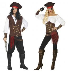 Déguisements Capitaines bateau pirate