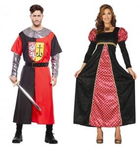 Déguisements Croisé Médiéval et Princesse de la Court