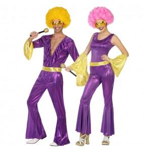 Déguisements Disco Violettes