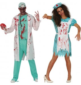 Déguisements Infirmiers Zombies