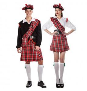 Déguisements Écossais Rouges