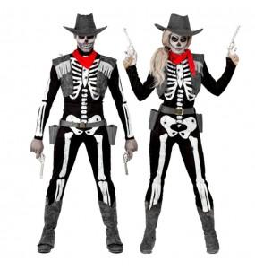Déguisements Squelettes Cowboys