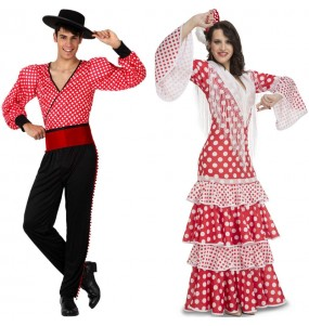 Déguisements Flamenco Rouges
