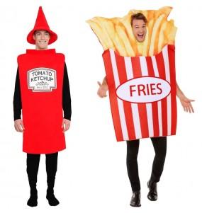 Déguisements Ketchup et Barquette de frites
