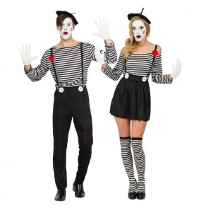 Déguisements Mimes Clowns