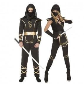 Déguisements Ninjas Dragon Noirs