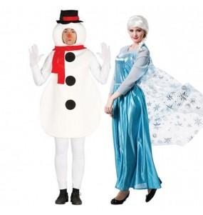 Déguisements Olaf et Elsa Frozen