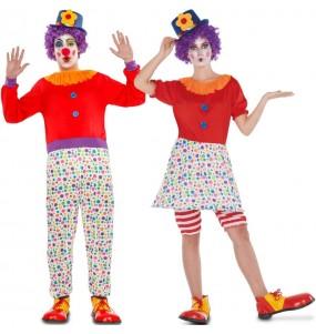 Déguisements Clowns Colorés