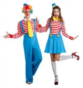 Déguisements Clowns avec bretelles