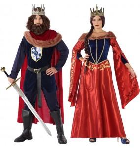 Déguisements Princes Médiévaux Rouges