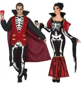 Déguisements Vampires Squelette