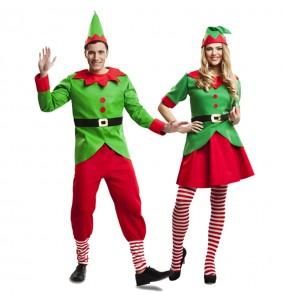 Déguisements Elfes Noël Santa Claus