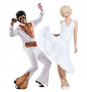 Déguisements Elvis et Marilyn Monroe