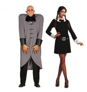 Déguisements Fétide et Mercredi Addams