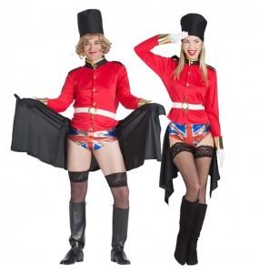 Déguisements Gardiens Royaux Britanniques grivois