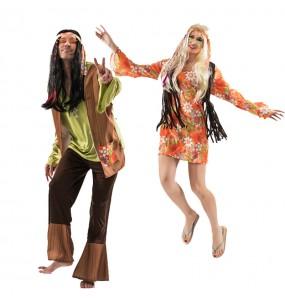 Déguisements Hippies Eighties
