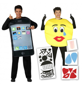 Déguisements Iphone et Émoticône