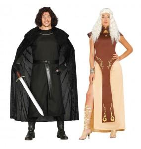 Déguisements Jon Snow et Daenerys Targaryen