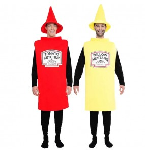 Déguisement Ketchup et Moutarde