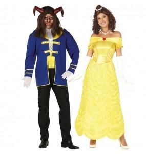Déguisements La Bête et Princesse Belle
