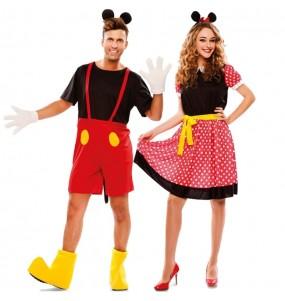 Déguisemens Mickey et Minnie Mouse