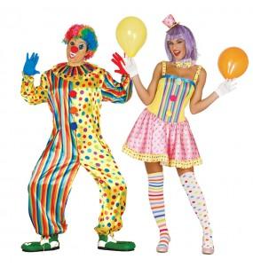 Déguisements Clowns Couleurs