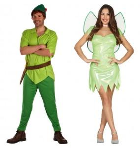 Déguisements Peter Pan et Clochette