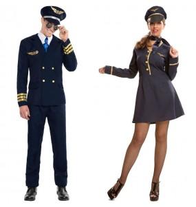 Déguisements Pilote et Hôtesse
