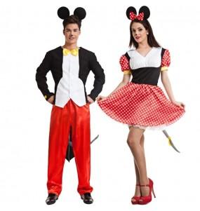 Déguisements Souris Mickey et Minnie Mouse