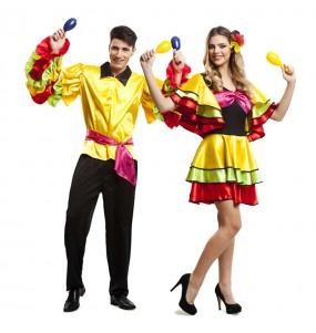 Déguisements Danseurs Rumba Brésil