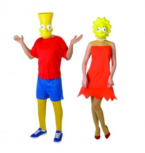 Déguisements The Simpsons™ - Bart et Lisa