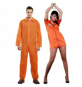 Déguisements Prisonniers Orange