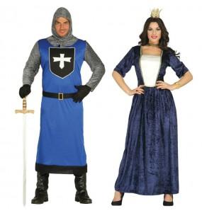 Déguisements Rois Moyen Âge Bleus