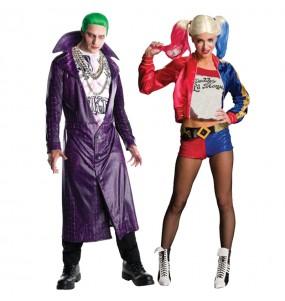 Déguisements Joker & Harley Quinn