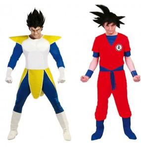 Déguisements Dragon Ball - Végéta et Goku